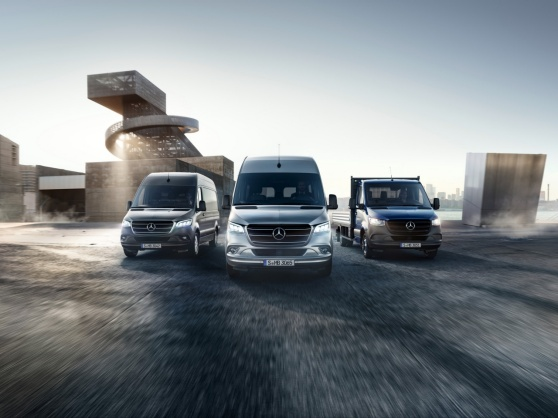 Mercedes-Benz Vans. Born to run.